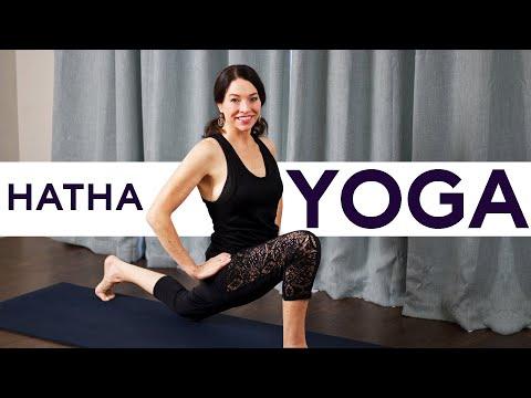 45 Minute Hatha Yoga Class (Pure love!)