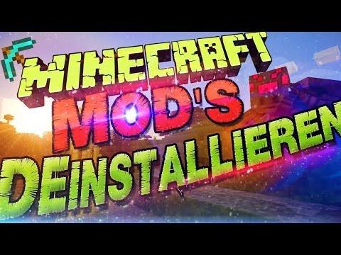 Minecraft Mods Deinstallieren / Mod...