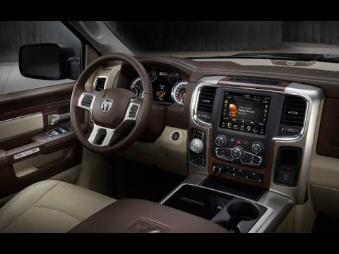 2016 DODGE RAM 1500 INTERIOR - YouTube