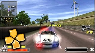 Pursuit Force PPSSPP Gameplay Full HD / 60FPS