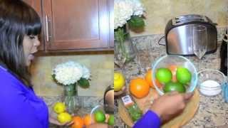 Diy Cocktail - Marcus Samuelsson Fresh Citrus Wine Cooler