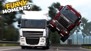 EP.#16 - Funny & Random Moments - Euro Truck Simulator 2