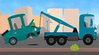 Мультфильм про эвакуатор и техническое обслуживание. Доктор Машинкова. мультик 7