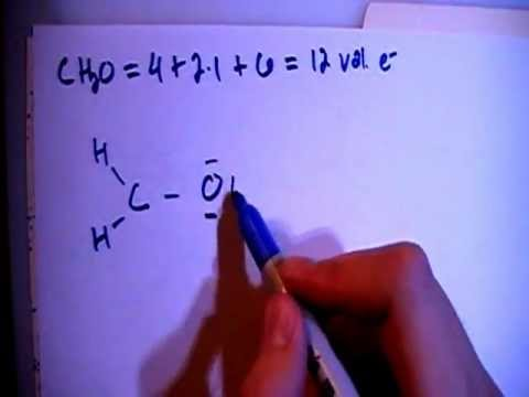 Methanal or Formaldehyde CH2O Lewis Dot Structure - YouTube