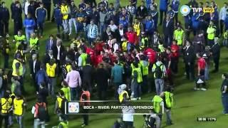 Superclásico Suspendido - Se retiran los jugadores de Riber