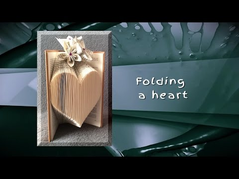 Trompke - Book Folding: How To Fold A Heart