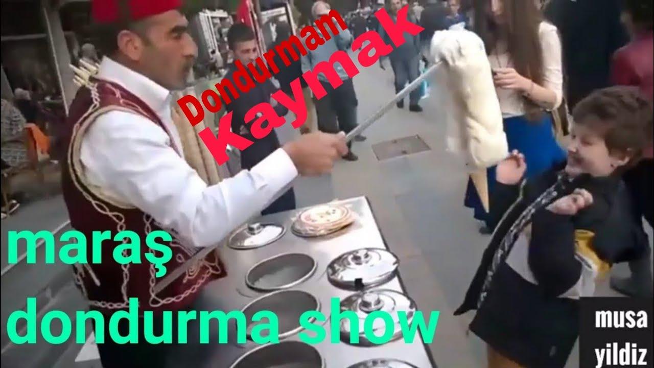 Maras Dondurma Show Komik Eglenceli Guzel Dakikalar Tatil Dirilis