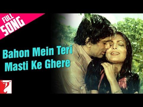 Bahon Mein Teri Masti Ke Ghere - Full Song | Kaala Patthar | Shashi Kapoor | Parveen Babi