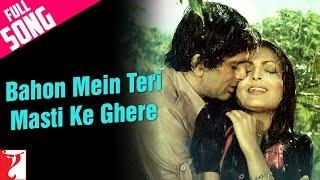 Bahon Mein Teri | Song HD | बाँहों में तेरी | Kaala Patthar | Lata Mangeshkar, Mohammed Rafi