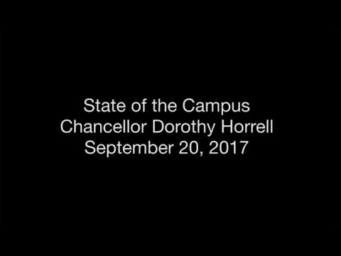 CU Denver State of the Campus – September 20, 2017