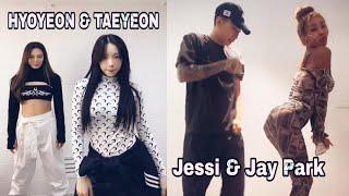 """소녀시대 Hyoyeon """"DESSERT"""" Challenge // Jessi """"NUNU NANA"""" Challenge"""