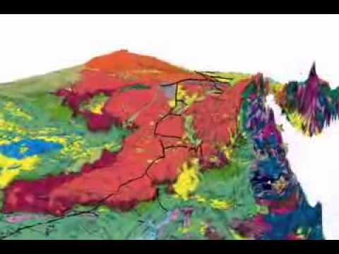 geology egypt 3d