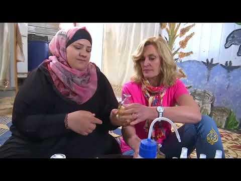 هذا الصباح-مواد تجميل نسائية ماركة مخيم الزعتري