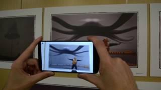 Выставка работ Алексея Андреева с дополненной реальностью