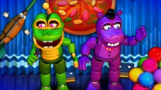 - FNAF 6 НОВЫЕ АНИМАТРОНИКИ ЛЯГУШКА и БЕГЕМОТ Five Nights At Freddy s 6 СИМУЛЯТОР ПИЦЦЕРИИ ФНАФ