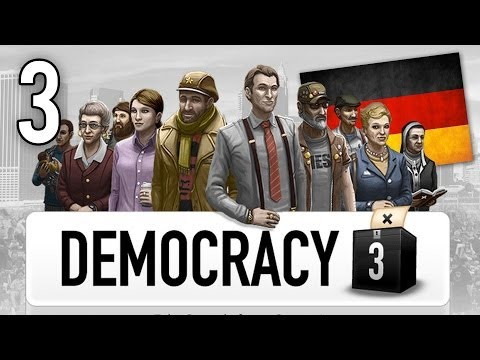 Let's Play Democracy 3 - Germany - Part 3 - Embassy Attacked!