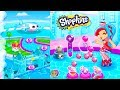 Bubble Popping To Save Shopkins - Season 8 World Vacation App Game Let's Play  Video