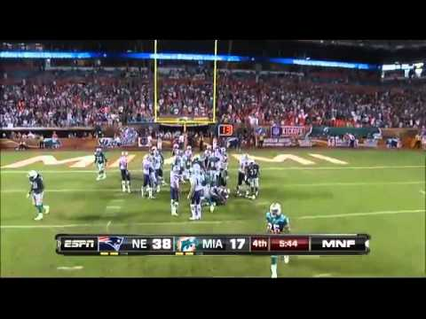 Wes Welker 99 1/2 Yard Touchdown 2011
