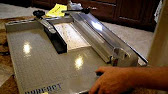 dahle model 533 professional 12 inch guillotine paper cutter demo