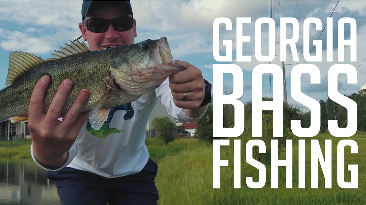 Georgia kayak bass fishing youtube for Youtube bass fishing