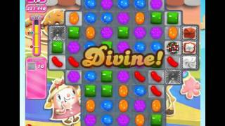 Candy Crush Saga Level 1555 with Booster last move