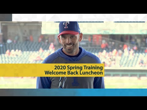 2020 Spring Training Welcome Back Luncheon video thumbnail