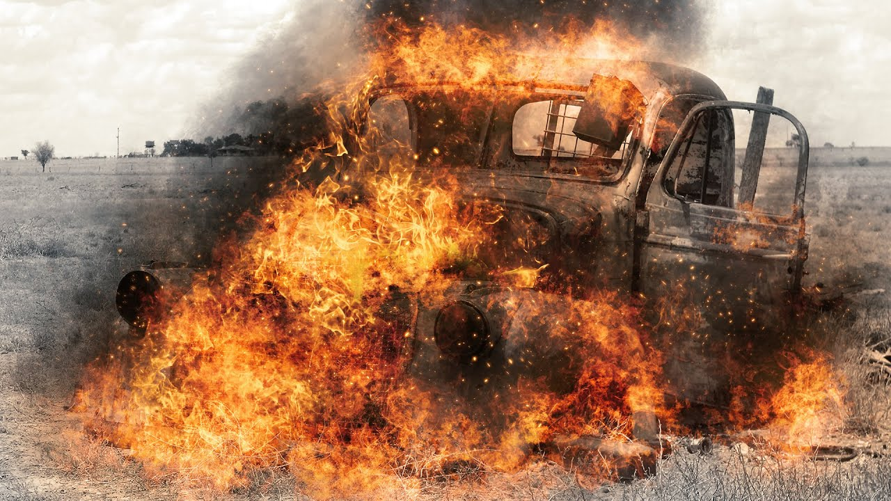 how to change the colour of fire photoshop
