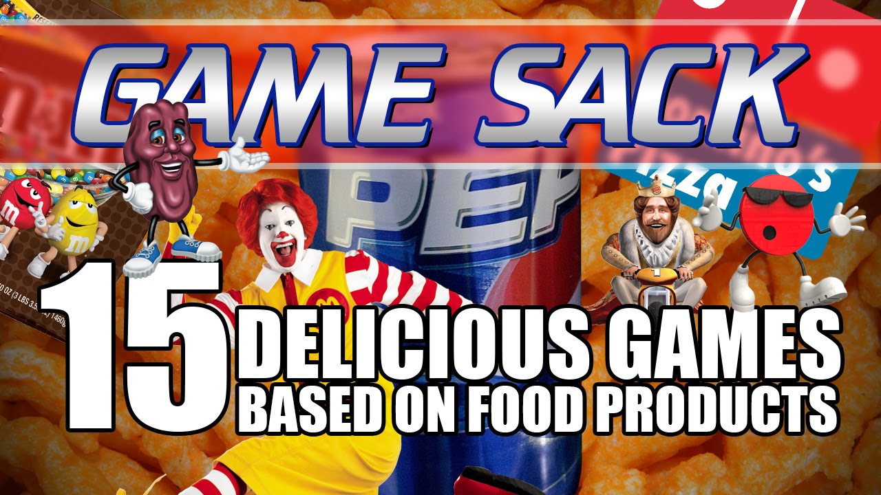 15 Delicious Games Based on Food Products – Game Sack