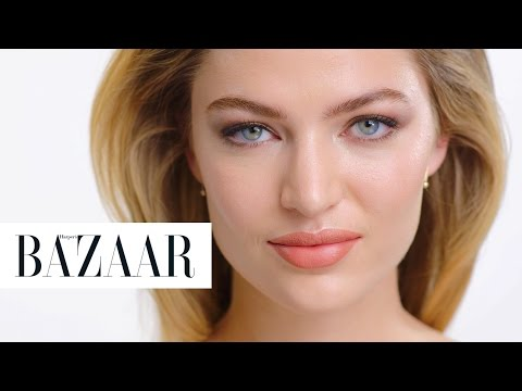 How to Get the Glowy Goddess Look | Harper's Bazaar + Maybelline