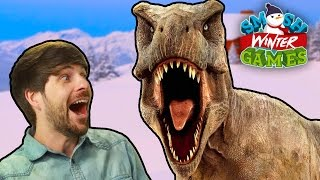 T-REX RACE & OPENING CEREMONY (Winter Games)
