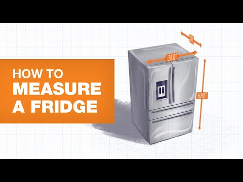 How To Measure A Fridge For Your Kitchen