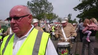 Saltcoats Protestant Boys Annual Parade 04/06/2016