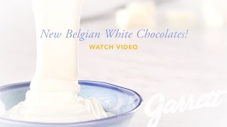 New Belgian White Chocolate Recipes With Lime, Orange and Strawberry Are Here!