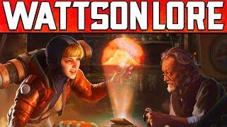 Apex Legends New Character Wattson Lore