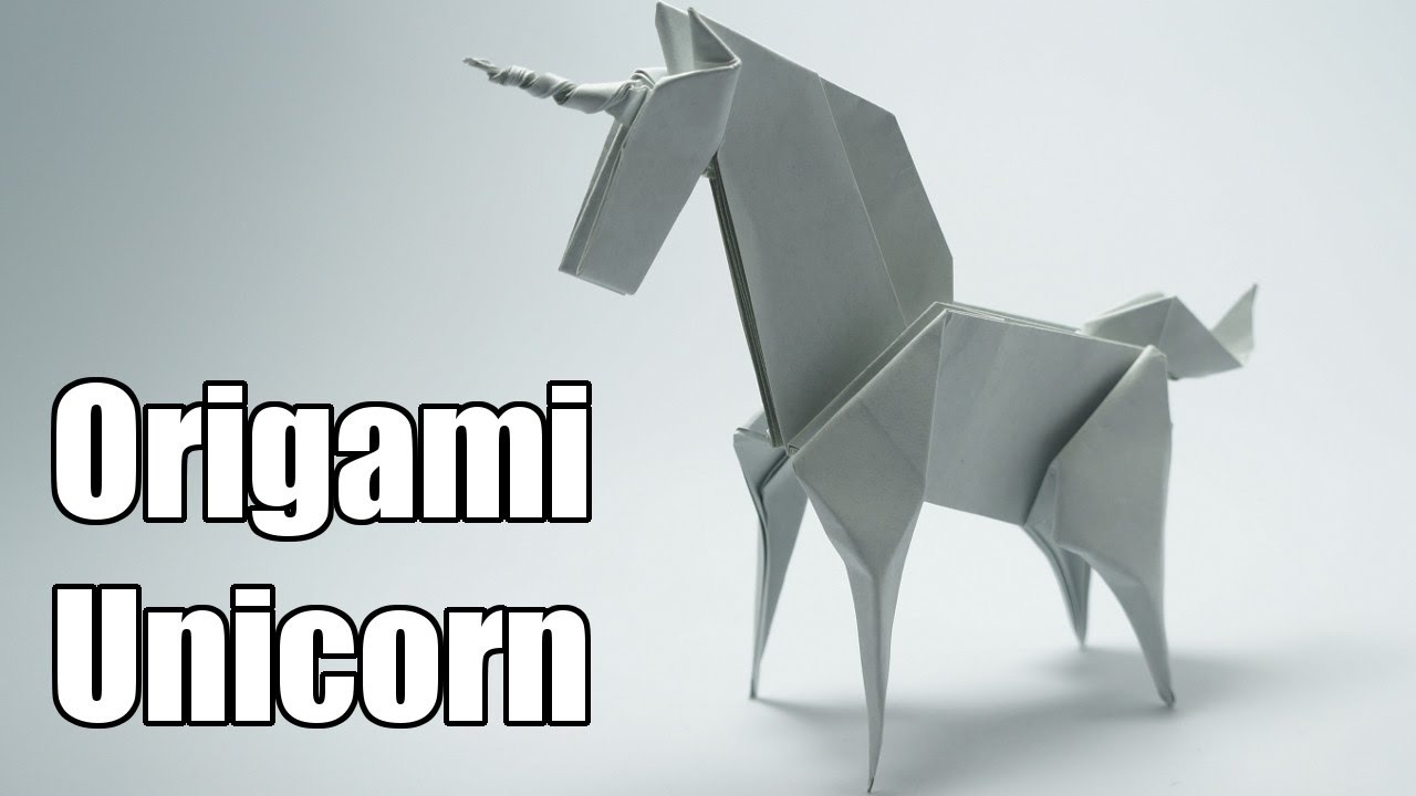 Origami Unicorn Jo Nakashima Youtube Rose Diagrams