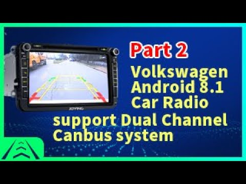 "Joying 8"" Volkswagen Head Unit 4GB Android 8.1.0 Canbus System Radio"