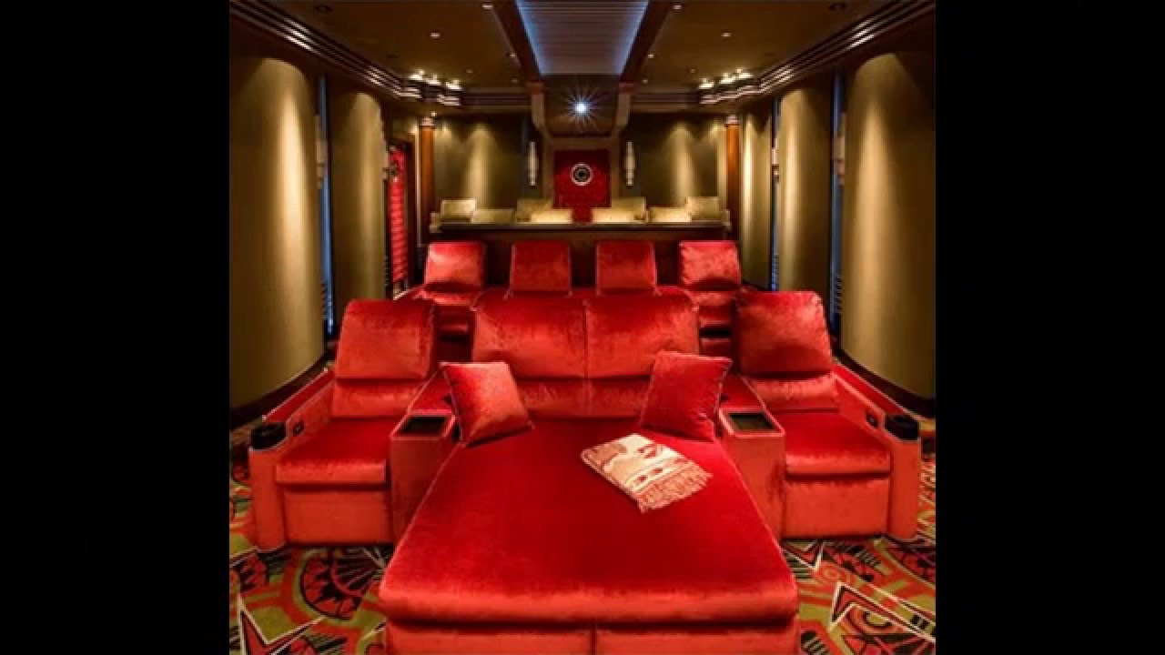 Wonderful Small Home Theater Room Ideas Part - 8: Small Home Theater Design Ideas - YouTube