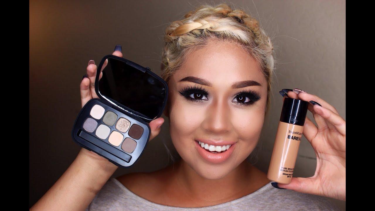 BareMinerals Makeup Tutorial♡ - YouTube
