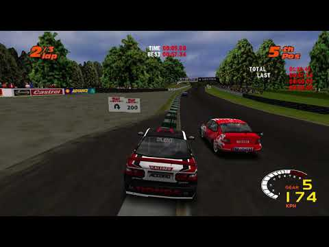 TOCA 2 Touring Cars: Windows 10 & Widescreen Test with SilentPatch