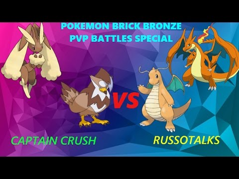 Pokemon Brick Bronze - PvP Ep 10 Special W/  RussoTalks