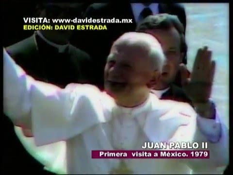 Papas en Mexico Parte 1 Juan Pablo II en 1979