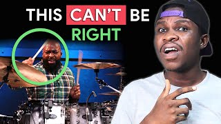 It Sounds SO WRONG! Calvin Rodgers OFF 6/8 Displaced Pattern - Drum Lesson | Jaystiqs