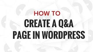 WordPress Soru ve Cevapları Sitesi Oluşturma