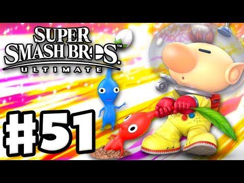 Olimar! - Super Smash Bros Ultimate - Gameplay Walkthrough Part 51 (Nintendo Switch) thumbnail