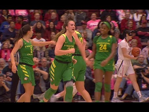 Highlights  No. 3 Oregon women s basketball picks up first win at Stanford  since 1987 843b55b7c1