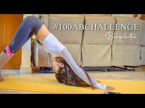I Did Blogilates #100abchallenge For 30 Days.