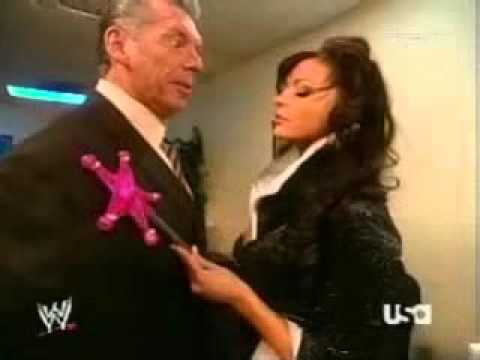2005 12 12 raw candice michelle and vince mcmahon backstage youtube