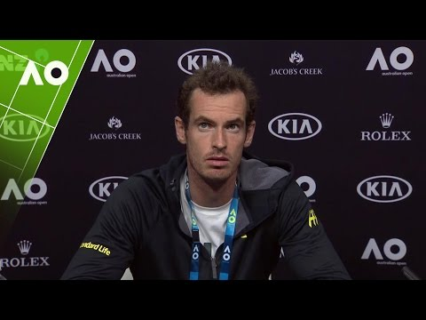 Andy Murray press conference (3R) |...