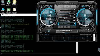 видео Geforce GTX 1080 ti в майнинге криптовалюты, разгон и хешрейт