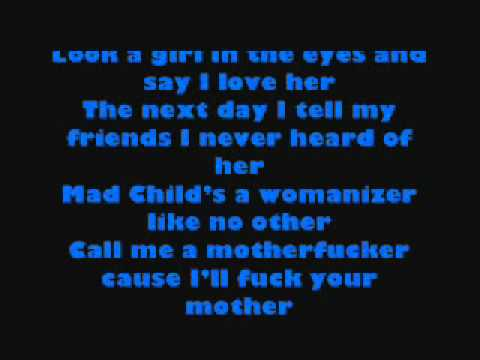 Mad Child, Dick Head lyrics